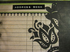 Home made Filofax (ideabook.se) Tags: scrapbook diy calendar journal homemade agenda filofax tabs cardstock addressbook