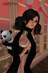 Under A Blood Red Sky (Aic W (Fifty Shades of Free)) Tags: life brown cute rabbit bunny female hair japanese discount doll panda skin alice avatar group january shades pale gift kawaii kitties second curious wylde hunt fifty freebie 2013 femboy freebs dollarbie