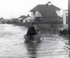Canvey Island, Flooded on 31st January 1953 (Environment Agency) Tags: floods eastcoast 1953 canvey