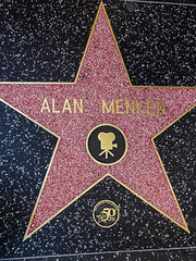 hollywood walk of fame: alan menken.