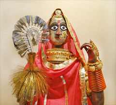 La déesse Gangaur (musée du Fort Meherangarh, Jodhpur)