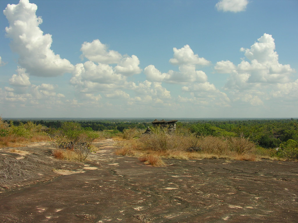 Plateau views, Mukdahan National Park, Northeast Thailand