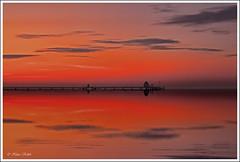 Morgenrot - 25071229 (Klaus Kehrls) Tags: meer sonnenaufgang ostsee morgenrot