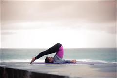 Yoga with Martine (Simon Wilde Photography) Tags: simon beach yoga female wilde sydney naturallight stretch bronte photograhy brontebeach 85mm14 d700 simonwildephotography