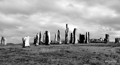 The Callanish Standing Stones (mootzie) Tags: photographer monochrome callanish stones ancient lewis western isles sky grey