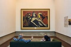 La piedad - Guaysamn (leoleamunoz) Tags: art gallery museo picture pintura