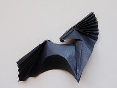 Cheval sauvage / Wild horse de Viviane Berty 2016 (Viviane des Papiers) Tags: vivianeberty origami horse cheval