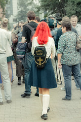 Gothic cosplay (Alexis2k) Tags: cosplay gothic girl goth streetphoto street