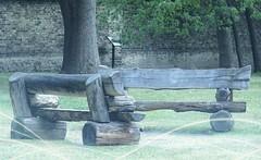 Des bancs  TORONTO (France-) Tags: 801 banc bench toronto texture bois wood deux two park rustique rustic