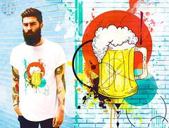 T-Shirt Wit Beer (golodesign) Tags: golodesign design tshirt blusa camisa camiseta desenho drawing draw ilustrao ilustration aquarela acuarela watercolor arte art tinta estampa vandal criatividade criative criativo cores cerveja beer copo caneca tattoo tatuagem chopp