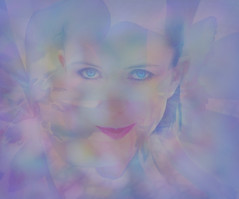 girl with blue eyes (calamityjan2008) Tags: girl lady woman blueeyes beautifulwoman sexylady purplegirl eyesseeingthroughyou girlwithblueeyes