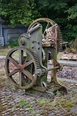 Imgp5541ac (Lee Mullins) Tags: blistsvictorianvillage machinery iron cast abandoned derelict preserved industrial themepark museum telford ironbridge