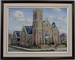 Painting of the church (Will S.) Tags: mypics brampton ontario canada stpaulsunitedchurch unitedchurchofcanada methodistchurch methodism protestant protestantism christian christianity church churches peelregion regionofpeel peelcounty