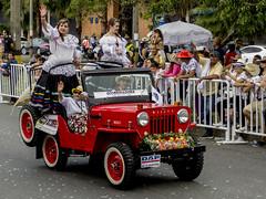 1963 Jeep Willys CJ-3B (PriscillaBurcher) Tags: 1963jeepwillyscj3b 1963jeepcj3b 1963willyscj3b willyscj3b jeepcj3b jeep willys feriadelasflores feriadelasflores2016 desfiledeautosclsicos classiccarsparade medelln colombia l1100647