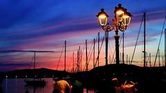 In movimento. (danielegraticola1) Tags: tramonti alghero sardegna emozioni colori tramonto