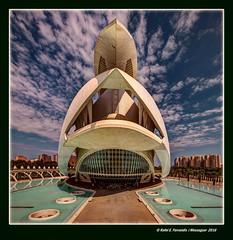Palau de les Arts 14 (Art Hall 14) Ciutat de les Arts i de les Cincies, Valncia, Spain (Rafel Ferrandis) Tags: cac valncia hdr ef1124mml eos5dmkii