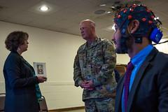 Director of Program Innovation and Integration visits laboratory (U.S. Army Research Laboratory) Tags: arl laboratory usarmyphotobydavidmcnally tour visit