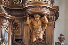 Schitger-orgel Grote Kerk, Zwolle (Gerrit Veldman) Tags: zwolle overijssel orgel organ organcase orgelkas ornament houtsnijwerk woodcarving