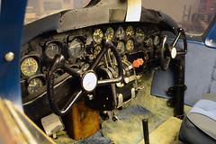 Cockpit of L-26B / U-4B 55-4648 (Ian E. Abbott) Tags: aerocommanderl26b aerocommanderl26 aerocommanderu4b aerocommanderu4 aerocommander l26b l26 u4b u4 554648 presidentialaircraft headofstateaircraft airforceone presidenteisenhower dwightdeisenhower cockpit regionalmilitarymuseum houmalouisiana houma militarymuseum