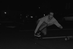 SLIDE_0435 (PhotoJourney_RVA) Tags: select radford virginia skateboarding longboarding real speed fast nikon blackandwhite powerslide smooth