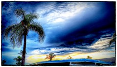 2016-08-27_P8270016_7_8_tonpaintmin_Sunset Clouds,Clearwater,Fl (robertlesterphotography) Tags: 12x4028 aroundthehouse aug272016 clearwaterfl clouds hdr m1