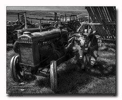 Another Fordson (jeremy willcocks) Tags: fordson tractor southhamsvintagerally devon uk blackandwhite old vintage wheels fujix100t sunny jeremywillcocks wwwsouthwestscenesmeuk landscape