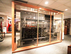 National Cryptologic Museum (patchais) Tags: national cryptologic museum fort meade codes ciphers bombe us navy ncr