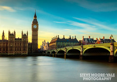 Westminster Sunset (Steve Moore-Vale) Tags: london bridge westminster housesofparliament sunset bigben big stopper 10 stop