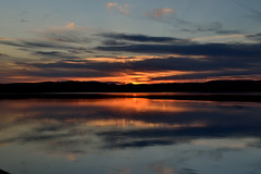 Baie du grand Pabos (pascal_roussy) Tags: coucherdesoleil sunset summer eau water baie canada chandler color nature nuage nikon d3100 gaspsie qubec couleur clouds paysage landscape