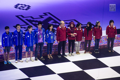 Indonesia category E medalists-Chinese Taipei