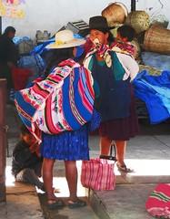 Encounter at the market (magellano) Tags: sucre bolivia mercado central market mercato donna woman candid bambino child kid