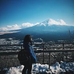 Mt. Fuji, Kawaguchiko (Coto Language Academy) Tags: nihongo japanese japan jlpt katakana hiragana kanji studyjapanese funjapanese japonaise giapponese japones japanisch  japaneseschool cotoacademy tokyo mountfuji fujisan mountain