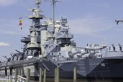 North Carolina Superstructure (dcnelson1898) Tags: travel southeast vacation wilmington northcarolina battleship bb55 northcarolinaclass warship worldwar2 usnavy militaryhistory museum