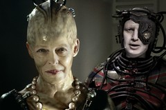 """Britain's new queen """"Pain must be shared"""" (Apionid) Tags: theresamay borisjohnson conservativeparty parody borg queen werehere hereios ukpolitics hivemind gimp"""