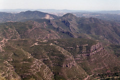 (turquoisecyan) Tags: revueflexb zenitb agfavista iso400 industar502f35 mountains spain montserrat