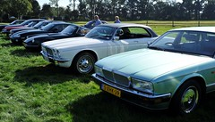 In excellent company: my Insignia, Daimler XJ-C, TVR, XKR, ... (Pim Stouten) Tags: arden british car auto wagen pkw vhicule macchina burgzelem xj xj40 xj6 insignia saloon sedan coup roadster cabrio cabriolet convertible tvr jag jaguar daimler