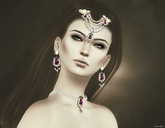 Sibylline (Eurdice Qork) Tags: model fashion fashionist face jewerly jewels chopzuey chic classic glam glamour sexy secondlife sl style soul photoshop portrait ps people