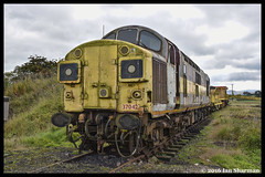 No 37042 18th Sept 2016 EVR Warcop (Ian Sharman 1963) Tags: no 37042 18th sept 2016 evr warcop class 37 tractor diesel engine railway rail railways train trains loco locomotive ews english welsh scottish eden valley heritage line