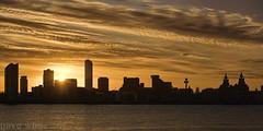 Sun Coming up Over Liverpool (Dave Wood Liverpool Images) Tags: morning england liverpool sunrise lowlight nikon waterfront unitedkingdom nikkor fx nikondslr