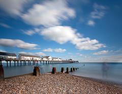 Southwold Pier (Mute*) Tags: ocean longexposure sea england water landscape pier suffolk seaside motionblur groyne southwold ghosting bwfilter ndfilter nd110 vertorama tenstop bwfilter110