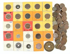 1008. Over (60) Chinese Republican Coins