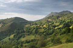 Asturias verde (elosoenpersona) Tags: mountains verde green geotagged asturias campo fields pastos cordillera montaas montes prados collada infiesto cantabrica piloa arnicio elosoenpersona