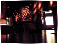 Gramercy Park Hotel, NYC (Dan_DC) Tags: nyc newyorkcity travel red bar dark warm manhattan lounge stock warmth indoors license luxury rf stylish imagebank worldtravel royaltyfree luxuryhotel luxurytravel travelinginstyle flatfee luxuryaccommodations travelingfirstclass premiumtravel