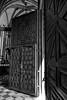 Puerta del Real Monasterio de Santa María de Guadalupe (Alejandro Cárdaba Rubio) Tags: bw byn blancoynegro canon blackwhite spain gothic unesco monastery moorish guadalupe baroque renaissance monasterio barroco extremadura renacentista patrimoniodelahumanidad canon24105mm españa patrimonyofhumanity cáceres canoneos5dmarkii gótico mudéjar neoclásico nepclassical realmonasteriodesantamaríadeguadalupe