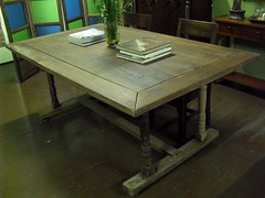 Trestle table (ioculus) Tags: antique philippines style lamesa filipino hardwood muebles antigo narra philippineculture filipinoheritage antiquetables philippineantiques philippineheritagefurniture philippineancestralhouses spanishcolonialphilippines