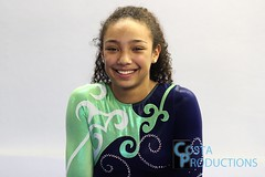 Tavia Smith (Erin Costa) Tags: sky college sports high texas tx smith center gymnast gymnastics tavia collegiate recruit