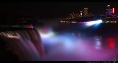 Das Illumination (Rawbean Laden) Tags: longexposure newyork water canon niagarafalls waterfall illumination niagara falls ef 1740 niagarafallsstatepark niagarafallsillumination