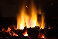 Lighting (Mirkoff) Tags: light black fire woods burning chimenea