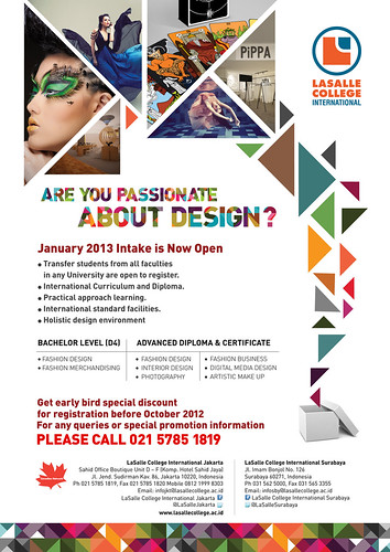 Join LaSalle College International Now For Intake January 2013