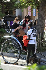 Rickshaw in Kamakura, Japan (tonygonz) Tags: japan kamakura rickshaw